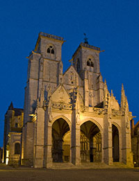 The Cathedral in Semur-en-Auxois